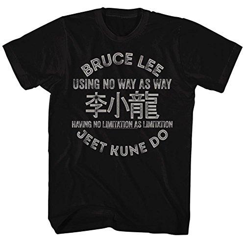 Bruce Lee Mens Symbols T Shirt product image