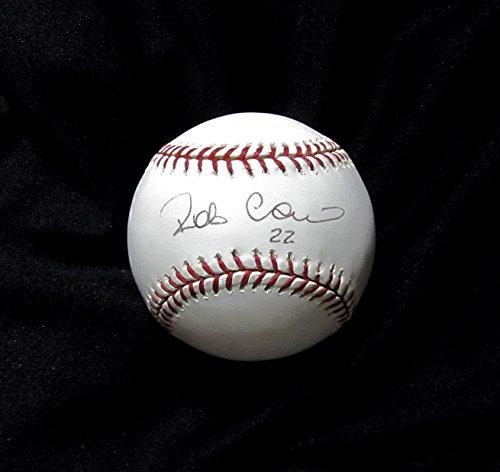 ROBINSON CANO Autographed Hand Signed BASEBALL O.M.L. YANKEES MARINERS w/COA & NEW BALL CUBE