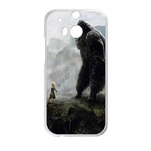 Custom Phone Case king kong For HTC One M8 NC1Q02223