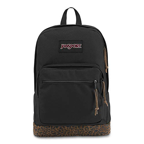 JanSport Right Pack Expressions Laptop Backpack - Leopard - Tall Boot Leopard