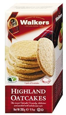 Walkers Highland Oatcakes 9.9 oz(Pack of 3)