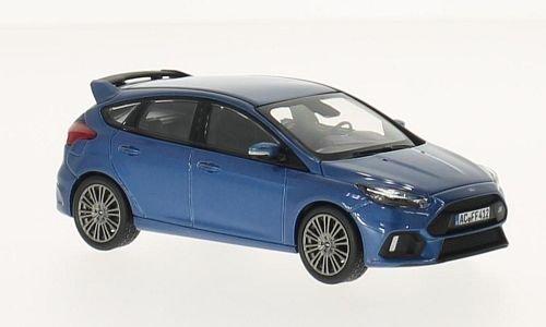 Ford Focus RS, metallic-blau, metallic-blau, metallic-blau, 2016, Modellauto, Fertigmodell, Norev 1:43 205055