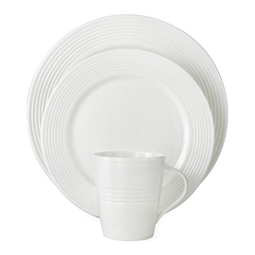 Lenox Tin Can Alley 7 Degree Bone China 4-Piece Place Setting, Service for 1 (Lenox Tin Can compare prices)