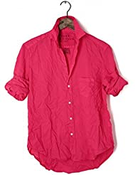 Frank & Eileen Barry in Raspberry Pink Voile Shirt