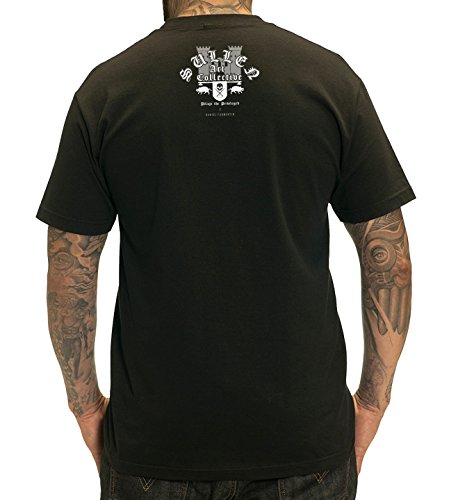 Sullen Men's Pillage SS T Shirt Black