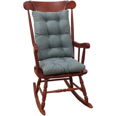 Non-Slip Cushions Rocking Chair Cushion Gripper Twillo Jumbo in Marine by The Gripper