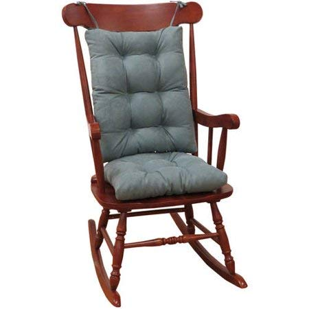 Klear Vu Non-Slip Cushion Gripper Rocking Chair Twillo Jumbo in Marine