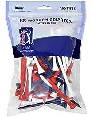 PGA Tour PGAT50 golftees van hout, afmeting 100 x 7 cm