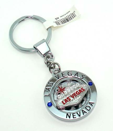 Key Chain Las Vegas Sign Spinner