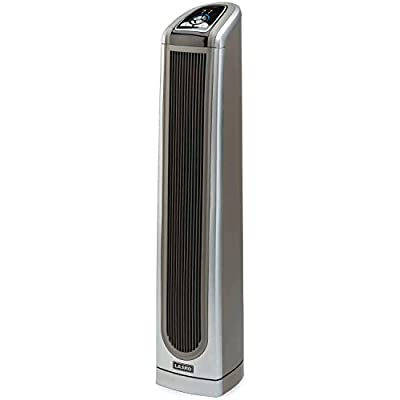 Lasko Ceramic Tower Heater with All NEW Patened Blower Technology and Widespread Oscillation