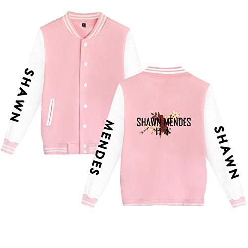 Ado Vêtements Shawn Baseball Homme Rose1 2xs De Femme 3xl Ctooo Uniforme Commémoratifs Mendes Manteau WwFv4SqUA