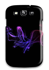 High Impact Dirt/shock Proof Case Cover For Galaxy S3 (plasma Abstract)