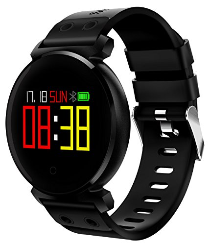 Collasaro Android Smartwatch, Waterproof Fitness Watch Activity Tracker for Men Women with Blood Pressure, Heart Rate Monitor, Sleep & Step - Iii Clip Watch