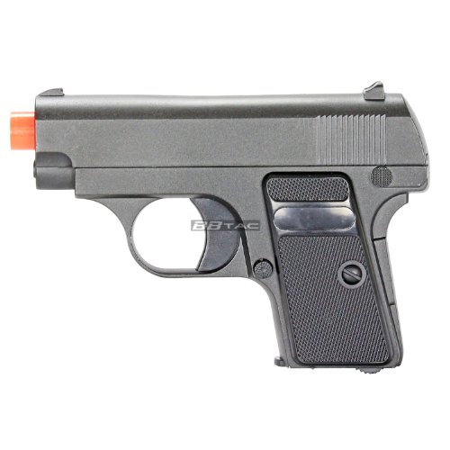 BBTac G1 Airsoft Full Metal Slide and Body Ultra Subcompact 6-Inch Pocket Pistol 215 FPS Gun