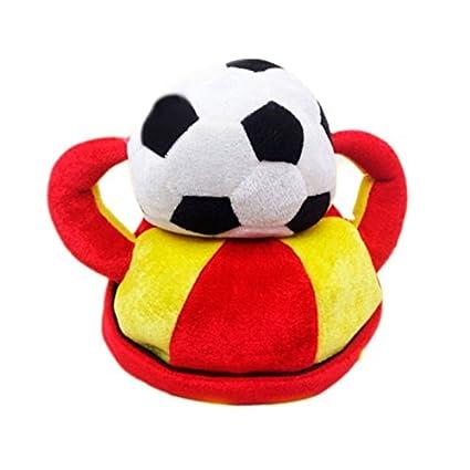 Gorro Balón Fútbol España Foam: Amazon.es: Juguetes y juegos