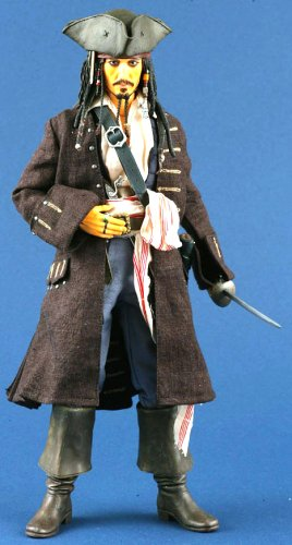 Real Action Heroes JACK SPARROW by Medicom Toy