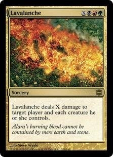 Dxm Series (Magic: the Gathering - Lavalanche - Alara Reborn - Foil)