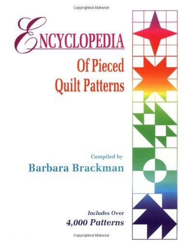 Encyclopedia Of Pieced Quilt Patterns, Brackman, Barbara