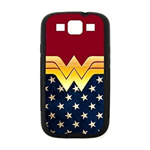 Hipster Wonder Woman For SamSung Galaxy S4 Mini Case Cover Hard Laser Technology American Flag
