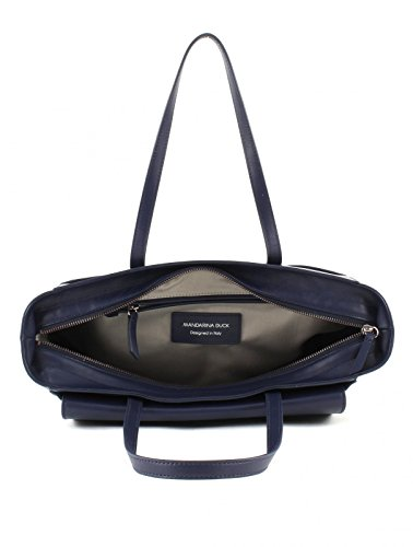 MANDARINA DUCK Hera 2.0 Shopper Borsa Dress Blue