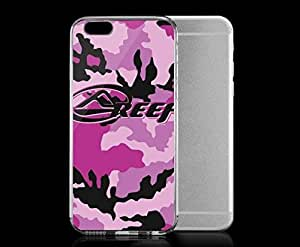 Light weight with strong PC plastic case for iphone 6 plusd 5.5 Patterns Camouflage Reef-Pink Camo