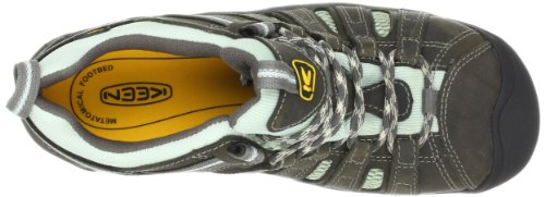 Keen Utility Womens Flint Low Work Boot,Drizzle/Surf Spray,5.5 M US
