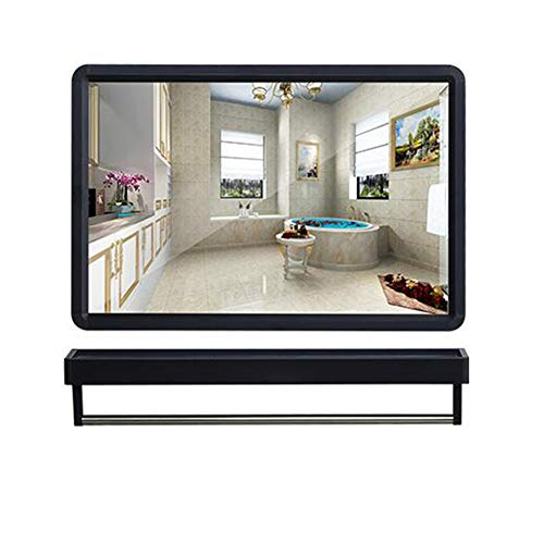 ELLENS Bathroom Mirror with Shelf, Rectangular Wall Mirror, Modern Home Decoration Mirror, -