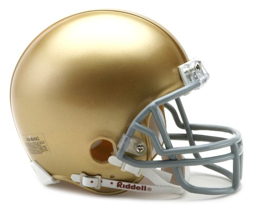Top 10 best mini college football helmets notre dame 2020