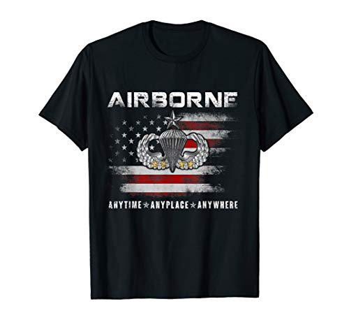 U.S Airborne Paratrooper Veteran T-shirt Gifts