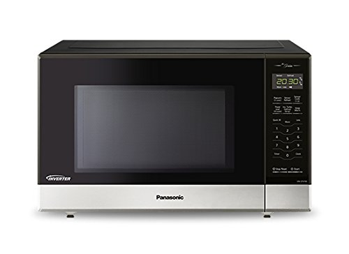 Panasonic NNST676S Genius Mid-Size Microwave Oven, Stainless Steel