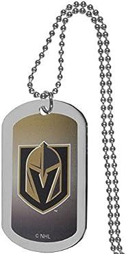 NHL Siskiyou Sports Fan Shop Vegas Golden Knights Team Tag Necklace 26 inch Team Color
