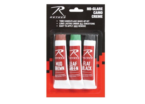Rothco 3Pk Camouflage Face Paint Creme ()
