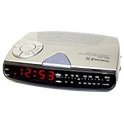 Emerson CK5028 Am/Fm Digital Clock Radio with Sure-Alarm Battery Back-Up (Discontinued by Manufacturer)