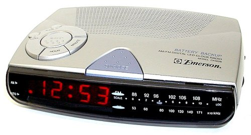 Emerson CK5028 Am/Fm Digital Clock Radio with Sure-Alarm