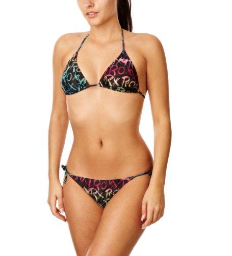 ROXY Roxy Jazzy Bikini Tie Sides Maillot Bain Femme XS