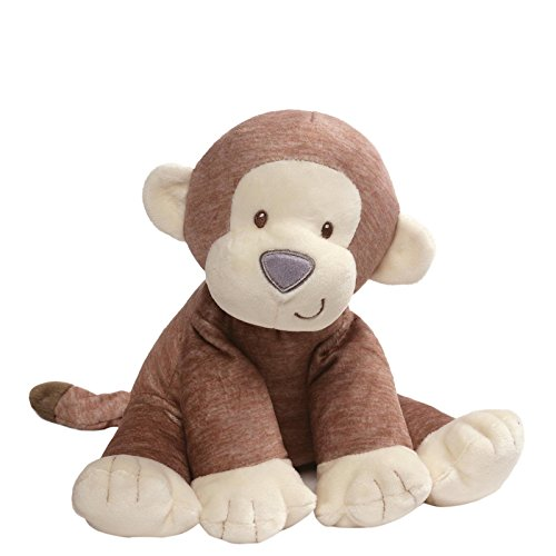 (Gund Baby Playful Pals Baby Plush Stuffed Animal, Monkey)