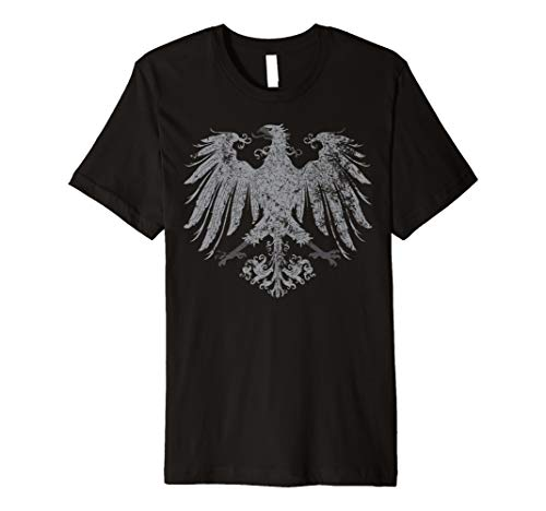 German Eagle Coat Of Arms - German Oktoberfest Eagle Coat of Arms Heraldry T-shirt