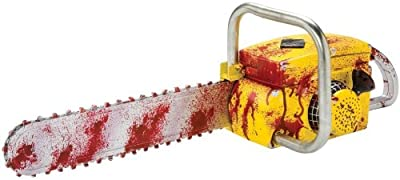 Chainsaw Animated Sound and Running Teeth Prop