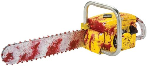 Deluxe Animated Bloody Chainsaw Costume Accessory