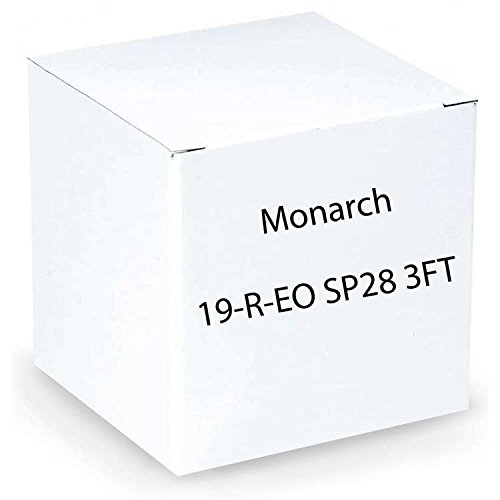 Monarch Hardware 19-R-EO SP28 3FT 19 Ser Rim Exit Dev Exit Only 3Ft Mal, Satin Chrome by Monarch