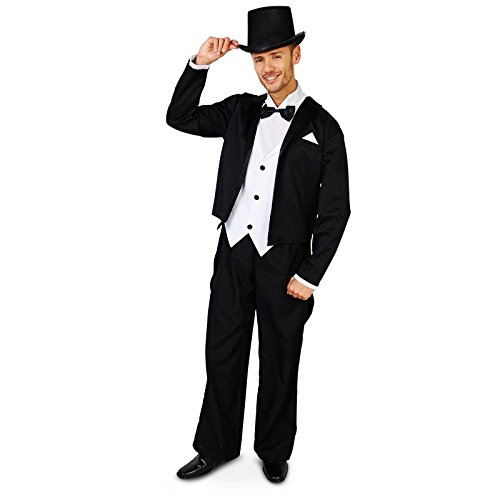The Great Gatsby Costumes For Kids (Great Gatsby 1920's Tuxedo Adult Costume X-Large)