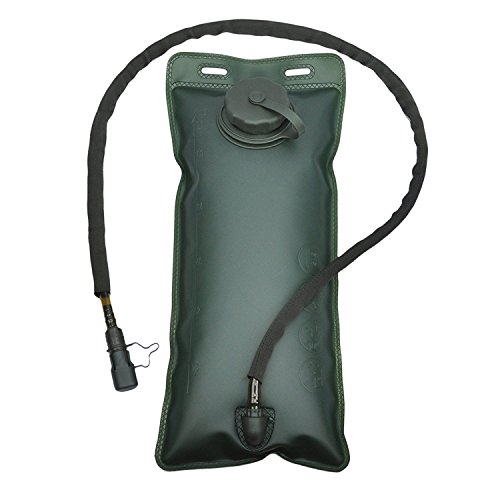 FITACTIC 2.5 Liter 2.5L Hydration Bladder Water Reservoir Pack for Running Cycling Hiking Backpack Bag. BPA Free & Military Class.