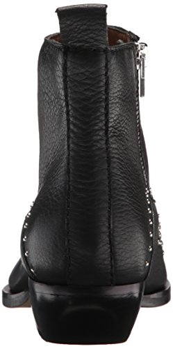 Dolce Women's Ankle Boot Leather Vita Black Uma xw8URrxqz