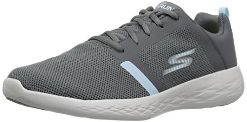 Revel Run Skechers Donna Sportive Scarpe Go Indoor 600 Charcoal Blue fttqw5r