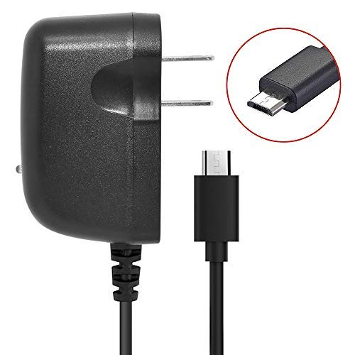 Home Wall Travel Charger for Doro 7050 Cell Phones [by NEM - 3 feet Long Cord] Black