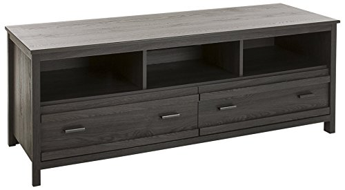 (South Shore Exhibit TV Stand for TVs, Up to 60'', Gray Oak)