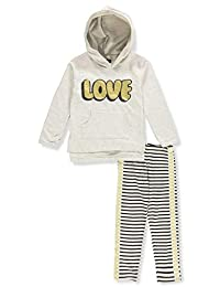 Limited Too Girls 2 Piece Pullover Hoodie and Legging Set