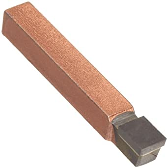 """American Carbide Tool Carbide-Tipped Square Nose Utility Tool Bit, Neutral, C6 Grade, 0.3125"""" Square Shank, C 5 Size"""