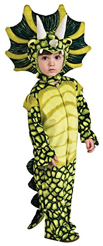 Silly Safari Costume, Triceratops Costume-Small ()