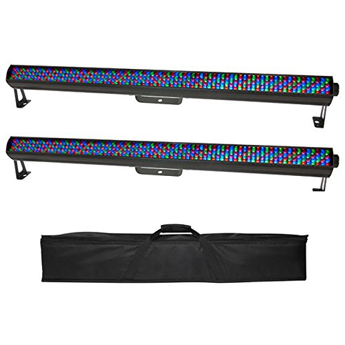 Chauvet DJ ColorRail IRC Linear LED Strip RGB DMX Novelty Lights + Travel Bag by Chauvet DJ